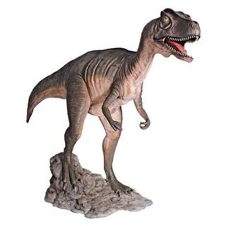 Design Toscano Jurassic-Sized Attacking Allosaurus Dinosaur Statue