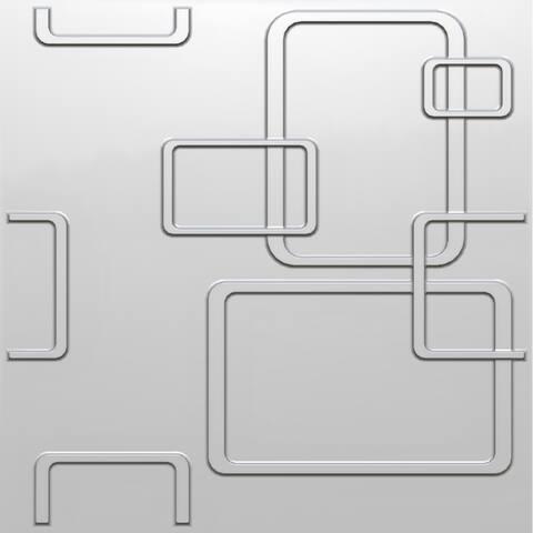 London Design 3D Wall Panel - 32.29 sq ft (12 pcs)