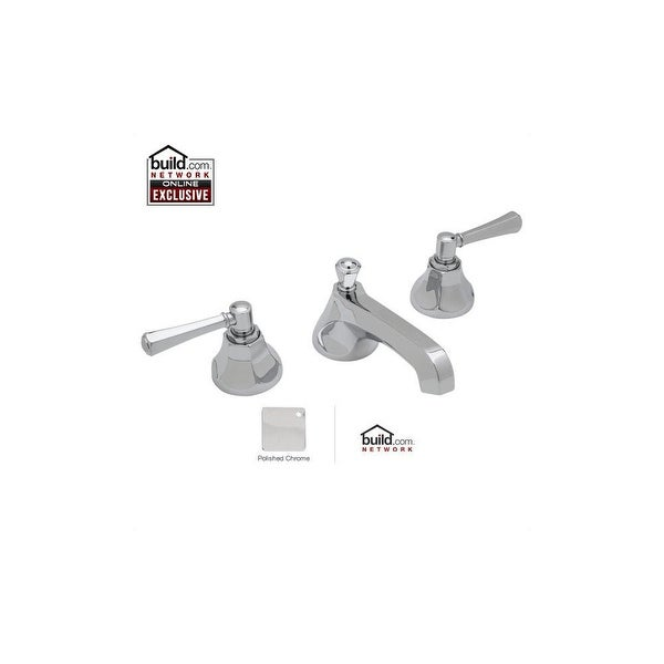 Rohl WE2302LM-2 Wellsford 1.2 GPM Widespread Bathroom Faucet with Pop-Up Drain Assembly