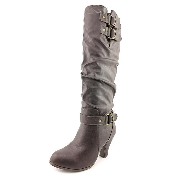 Rampage Eleanor Round Toe Synthetic Knee High Boot