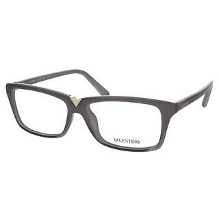 Valentino V2665 035 Grey Rectangular Valentino Eyewear