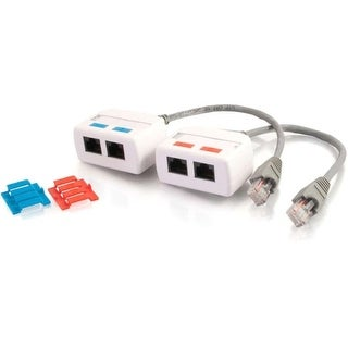 C2G 37049 C2G RJ45 Network Combiner Kit - Audio Line In