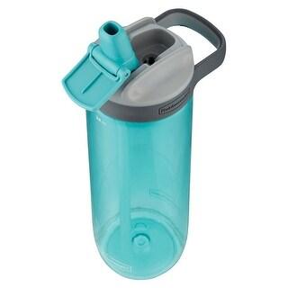 Rubbermaid 2000831 Water Bottle, Plastic, Aqua, 24 Oz