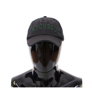 Dolce & Gabbana Black Logo Baseball Cap Hat