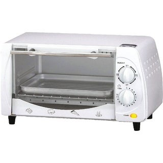 Brentwood 4 Slice Toaster Oven, Ts-345W, White