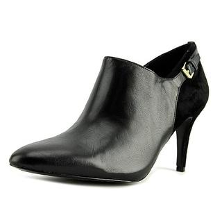 Lauren Ralph Lauren Pabla Women  Round Toe Suede Black Heels