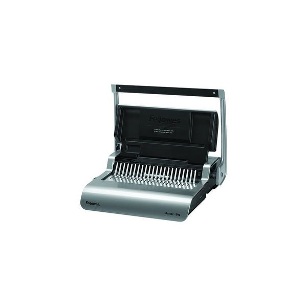 Fellowes Inc. Pulsar Electric Comb Binding System, White Pulsar Electric Comb Binding System