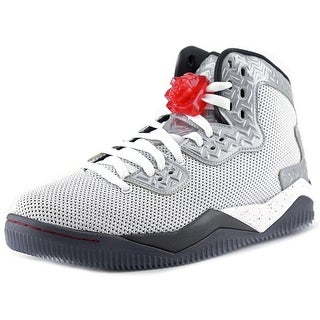 Jordan Air Spike Forty PE Men Round Toe Synthetic White Basketball Shoe