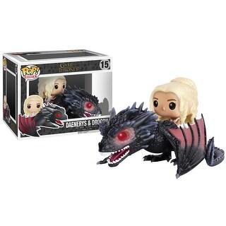 FunKo POP! Rides Game of Thrones Daenerys & Drogon Vinyl Figure - Multi