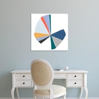 Easy Art Prints June Erica Vess's 'Color Wheel I' Premium Canvas Art