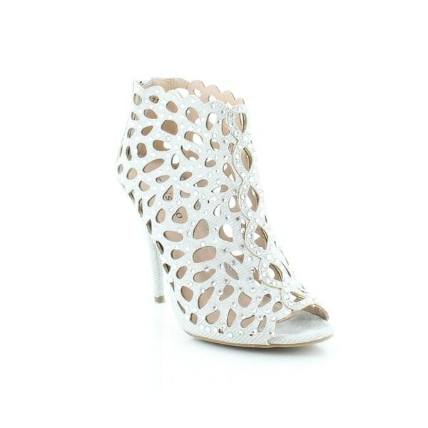 Ziginy Darlah Women's Heels Silver - 7.5
