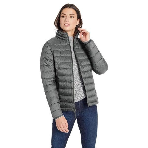 Essentials Women's Lightweight Water-Resistant Packable Puffer Jacket,... - Medium. Opens flyout.