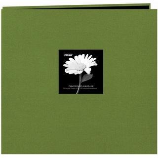"Pioneer Fabric Frame Post Bound Album 12""X12""-Herbal Green - herbal green"