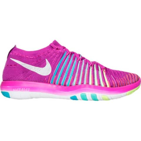 Nike Womens Free Transform Flyknit Low Top Lace Up Fashion Sneakers