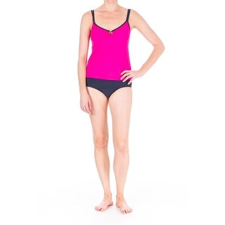 Mainstream Womens O-Ring Full Coverage Tankini Swimsuit (More options available)