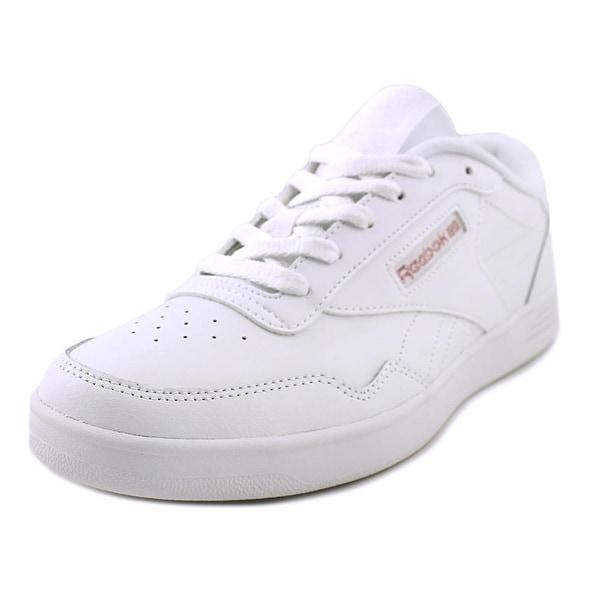 Reebok Club Memt Men Round Toe Synthetic White Sneakers