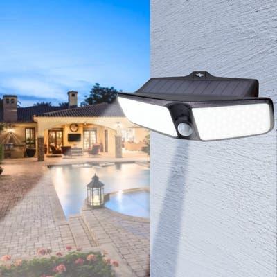 Outdoor Solar Power Motion Sensor Lights 100 LED PIR Security Light