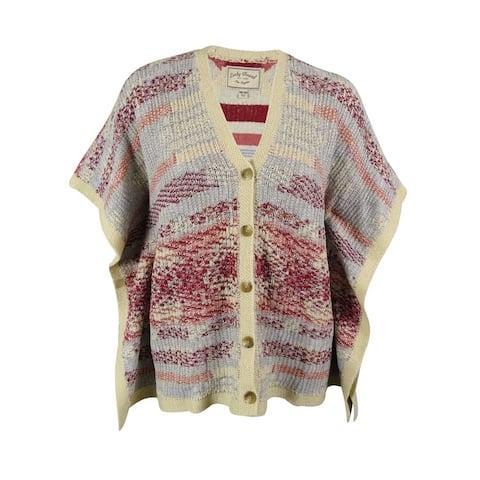 Lucky Brand Women's V-Neck Cardigan Sweater - Multi - OS