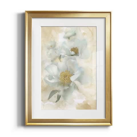 Soft Peonies II Premium Framed Print - Ready to Hang
