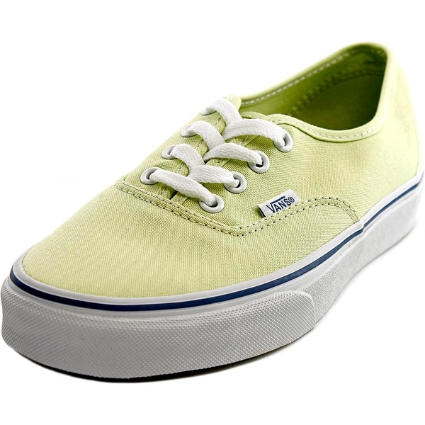 Vans Authentic Women Shadow Lime/True White Sneakers Shoes