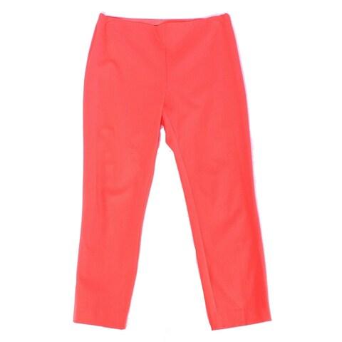 Lauren By Ralph Lauren Orange Women's 16X24 Dress Pants Stretch