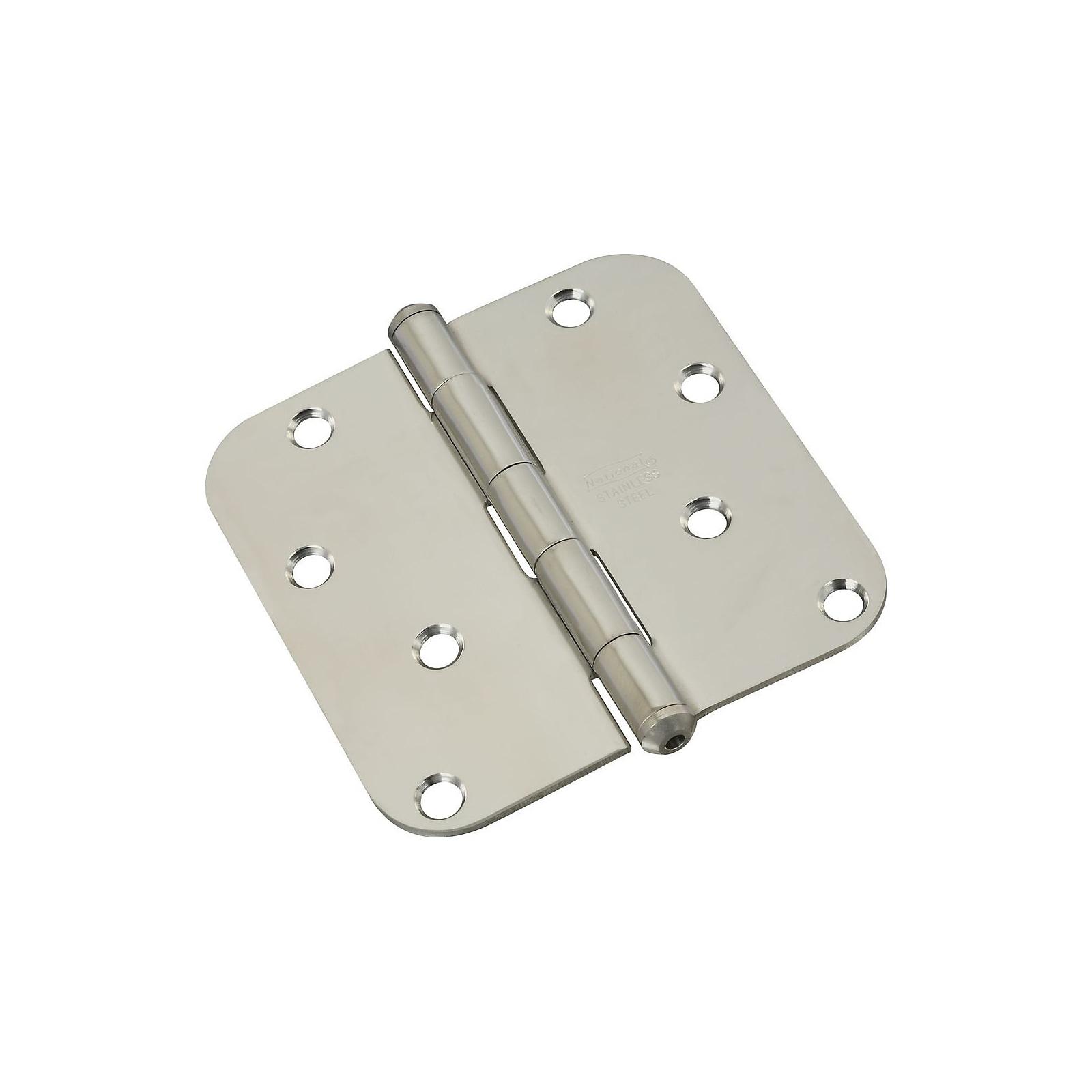 National Hardware 830270 Door Hinge, Stainless Steel, 4