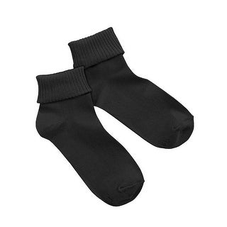 Hanes Women's ComfortSoft Cuff Socks Extended Sizes 3-Pack - 8-12