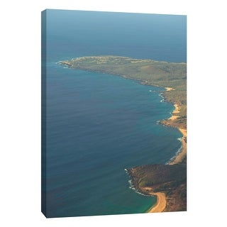 "PTM Images 9-108825  PTM Canvas Collection 10"" x 8"" - ""Sea Horizon"" Giclee Coastlines Art Print on Canvas"