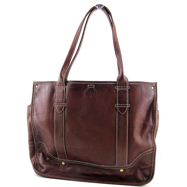 Frye Campus Shopper Women Leather Tote - Brown