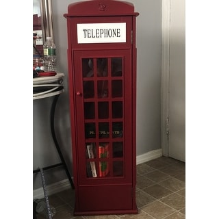 Top Product Reviews for Harper Blvd Red Phone Booth Media Storage ...