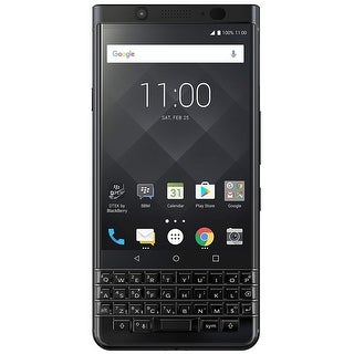 BlackBerry KEYone BBB100-7 64GB Unlocked GSM Dual-SIM Phone w/ 12MP Camera - Black