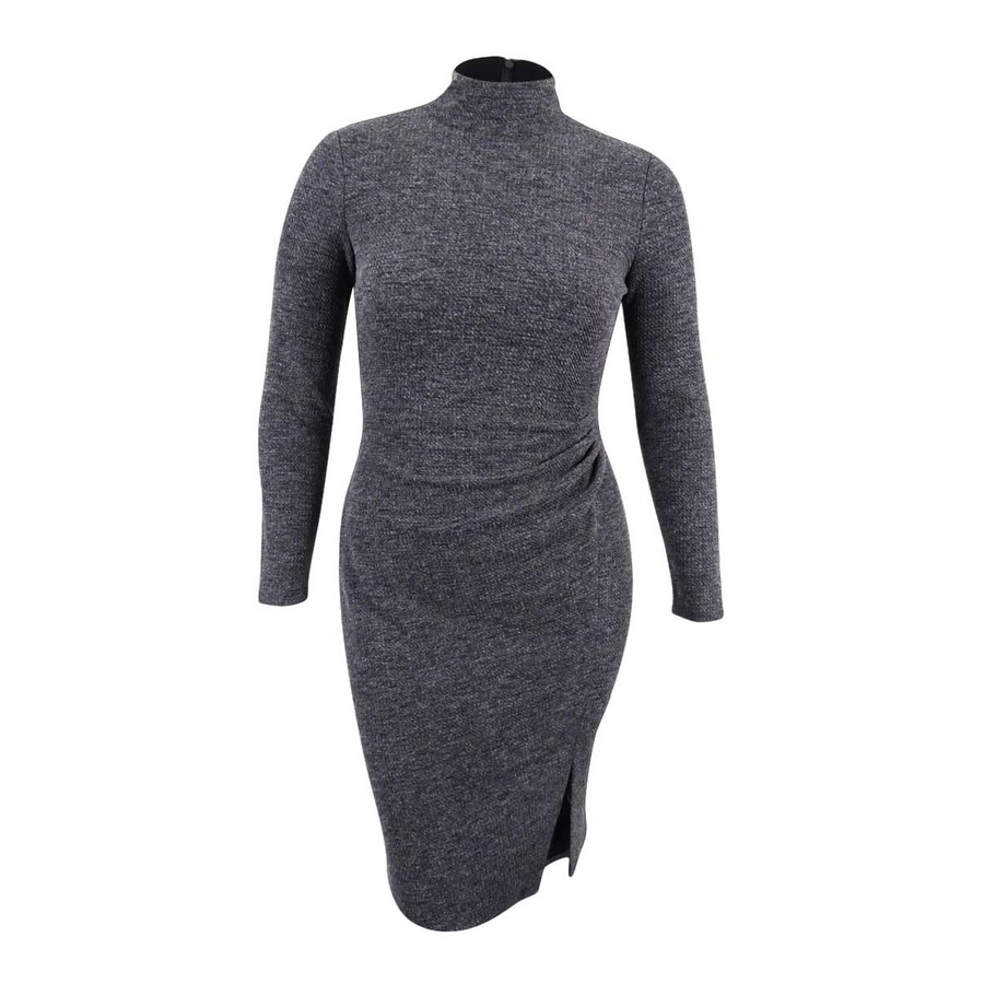 Lauren Ralph Lauren Women\u0027s Jacquard Sheath Dress - Heather Grey