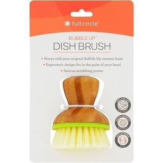 Full Circle Home Replacement Brush - Bubble Up Green - 6 ct Dishwashing
