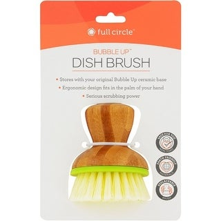 """Full Circle Home Replacement Brush - Bubble Up Green - 6 ct Dishwashing"""