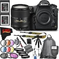 Nikon D850 DSLR Camera (Body Only) 1585 International Model + Nikon 18-300mm f/3.5-6.3G ED AF-S DX Nikkor LensBundle