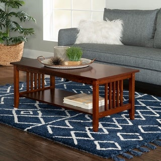 Myles Mission Coffee Table