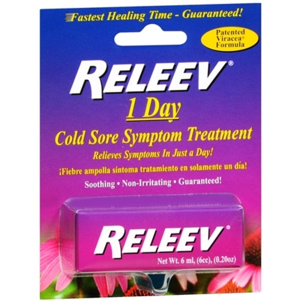 RELEEV 1 Day Cold Sore Treatment 6 mL