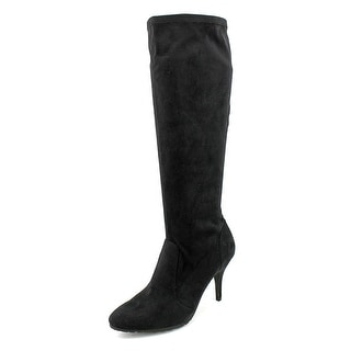 Tahari Yolanda Women Pointed Toe Synthetic Knee High Boot