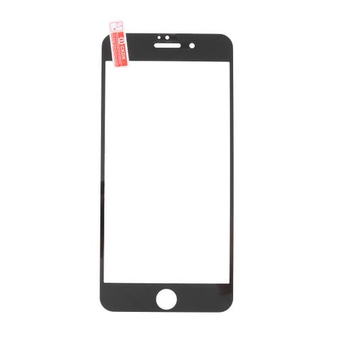 Tempered Glass Anti-Dust Phone Screen Protector Black for 5.5 Inch iPhone 7 Plus