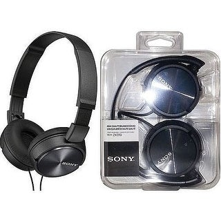 Sony Over-Head Headphones Black