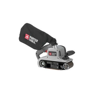 "Porter Cable 352VS 3"" x 21"" Variable-Speed Belt Sander with 8 Amp Motor and Dust"