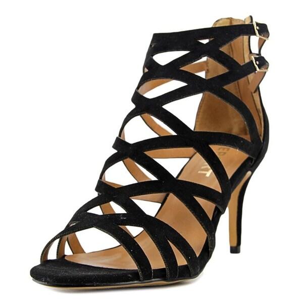 Report Kareena Women Black Sandals