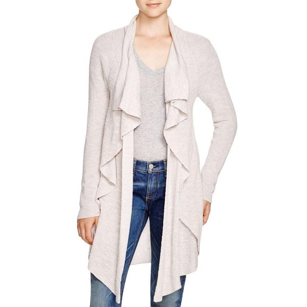Nic + Zoe Womens Cardigan Sweater Knit Open Front