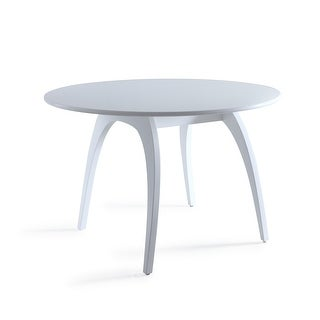 Link to Posh Pollen Beckett White Dining Coference Table Similar Items in Dining Room & Bar Furniture