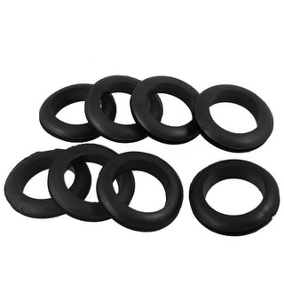 Wire Protective Rubber 35mm Inner Dia Double Sided Grommet 8 Pcs