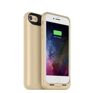 Mophie Juice Pack Air - Wireless Charging Protective Battery Pack Case for iPhone 7 - Gold