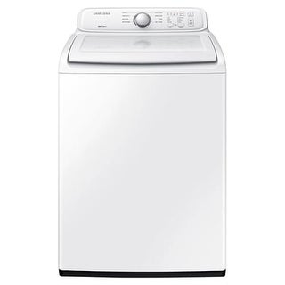 Samsung WA40J3000A 27 Inch Wide 4 Cu. Ft. Top Loading Washer with Diamond Drum Interior