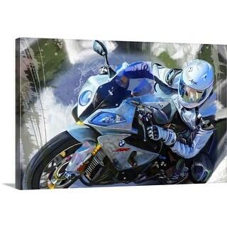 """""""BMW"""" Canvas Wall Art"""