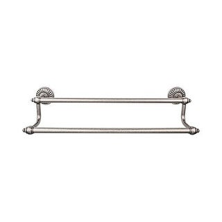 Top Knobs TUSC9 Tuscany Bath 24 Inch Double Towel Bar - n/a