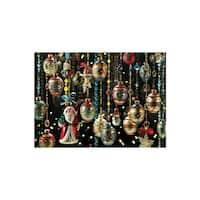 Christmas Ornaments 1000 Piece Cobble Hill Puzzle